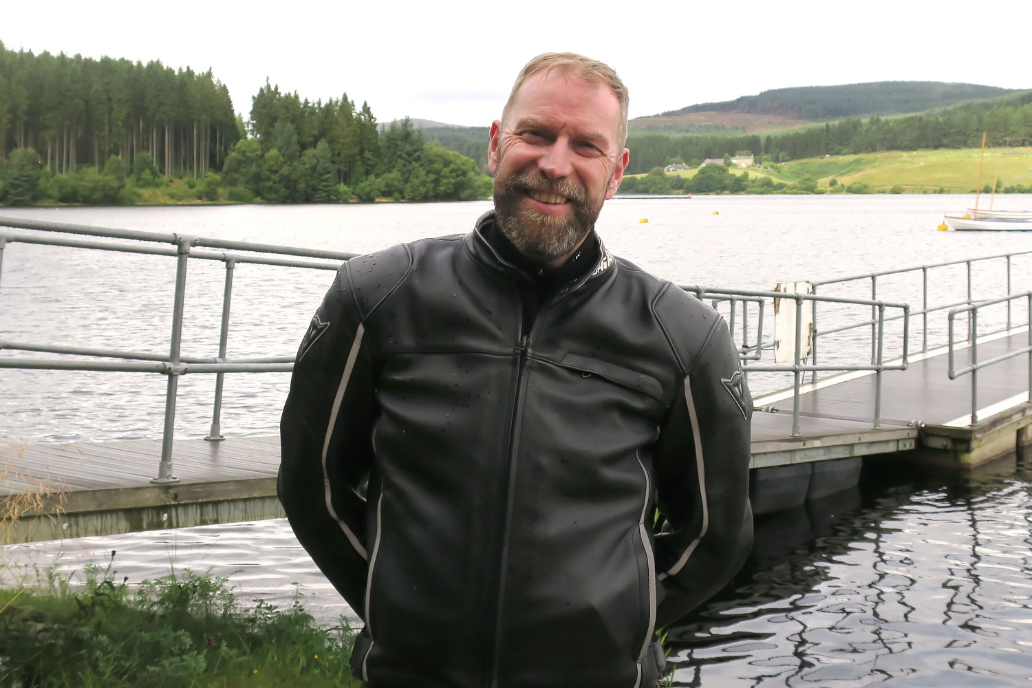Photo of Derek Digital on a motorcycle tour to Kielder Water in Northumbria